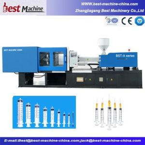 Servo Automatic Medicial Syringe Moulding Machine Making pictures & photos