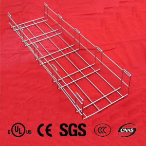 Stainless Steel Wire Mesh Cable Tray with CE(LED0 and UL and SGS Listed Manufacturer pictures & photos