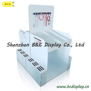 Professional Cardboard Display Manufacturer, Pop Pallet Display with Cmyk Printing Suitable for Tools, Paper Pallet Display pictures & photos