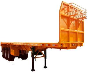 2axle; 3axle Flat Bed Customizable Cargo Semi Trailer