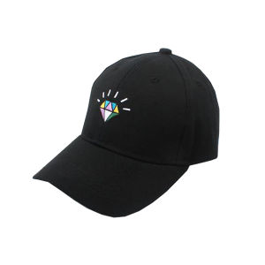 Blank Adjustable Black Baseball Cap pictures & photos