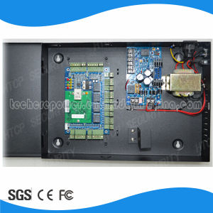 High Quality Wiegand 4 Door Access Control Board with Power Supply Box pictures & photos