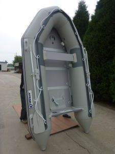 Folding Inflatable Pontoon Fishing Boat (290cm) pictures & photos