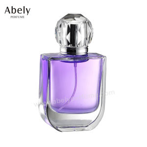 100ml Unique Clear Perfume Glass Bottles with Perfume Atomizer pictures & photos