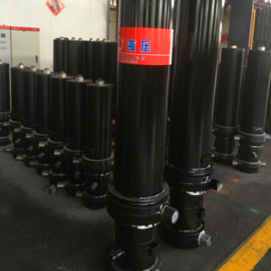 49t Dump Truck High Quanlity Front-End Hydraulic Cylinder pictures & photos