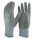 15 Gauge Nylon and Spandex Liner 3/4 Nitrile Coated Gloves pictures & photos