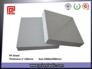 White Hard Plastic Solid PP Panel pictures & photos