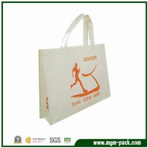 Elegant White Promotional Non Woven Advertising Bag pictures & photos