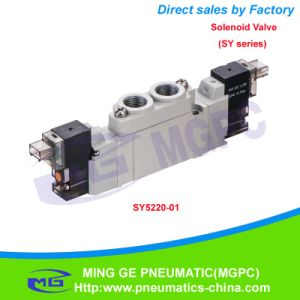 Pneumatic Solenoid Valve (SMC SY Type) pictures & photos