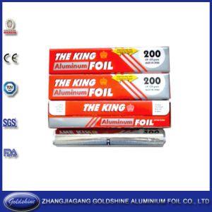 Food Use and Printed Treatment Household Aluminum Foil pictures & photos