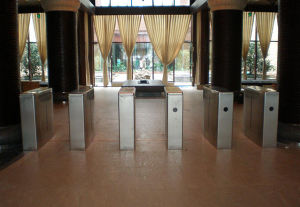 Channel Wing Barrier Gate High Turnstile pictures & photos