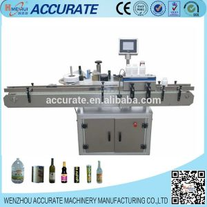 High Precision Round Adhesive Bottle Labeling Machine (MPC-AS) pictures & photos