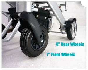Tiny 4 Foldable and Portable Electric Wheelchair pictures & photos