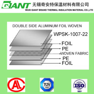 Reflective Insulation (Radiant Barrier) , Vapor Barrier Aluminum Foil (Woven) pictures & photos