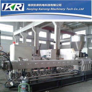 Talc. Talcum. Filler Masterbatch Twin Screw Extruder Price pictures & photos