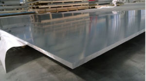 Aluminum Plate 5754 T6 for Inner and Outer Door Saiding/Treadplate /Shipbuilding /Vehicle Bodies pictures & photos