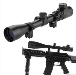 6-24*50aoeg Hunting Red Green Illuminated Mil-DOT Optical Gun Rifle Scope pictures & photos