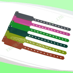 Custom Entertainment Vinyl Plastic Wristbands Bracelet Bands (E6060B1) pictures & photos