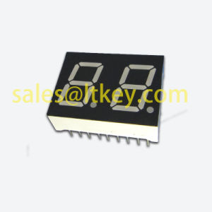 0.8 Inch Dual Digits 7 Segment LED Display with Multiplex PCB pictures & photos