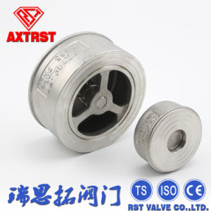 Single Disc Stainless Steel Non Return Wafer Check Valve pictures & photos