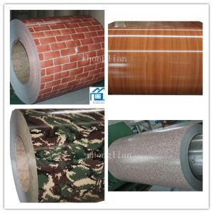 Wood Grain Camouflage Grain Brick Grain Painted Steel (ZL-PPGI) pictures & photos