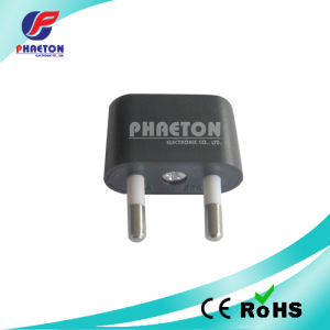 2p Round AC Adaptor Plug to 2p AC Jack Plug pictures & photos