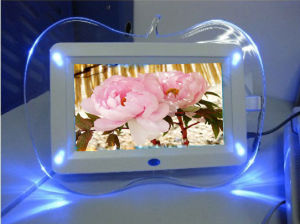 LED Light Digital Photo Frame with Colorful Acrylic pictures & photos