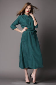 Fashion Western Style Elegant Lady Maxi Dress for Women pictures & photos