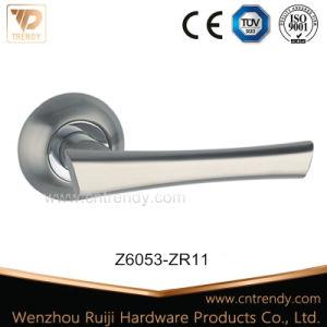 Zamak Hardware Lever Latch Lock Handle for Interior Door (Z6053-ZR03) pictures & photos