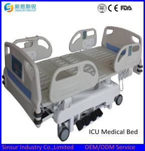 China Luxury Electric ICU/Nursing Multi-Function Medical Equipment Hospital Bed pictures & photos