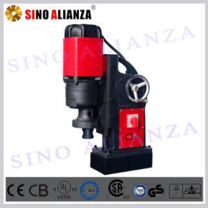 49mm Portable Magnetic Drill Press with Twist Drill Bit Saving Labor Hand Wheel