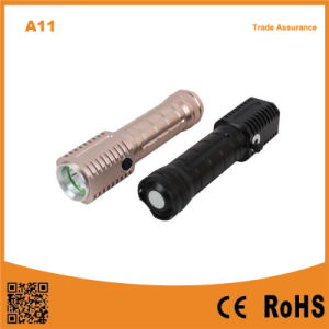 LED Torch 5W Aluminium Rechargeable Battery LED Flashlights pictures & photos