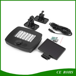 Outdoor 30LED PIR Motion Sensor Solar Garden Light with Waterproof pictures & photos