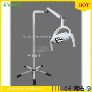 Movable Dental Shadowless Floor Standing Operation LED Oral Light pictures & photos
