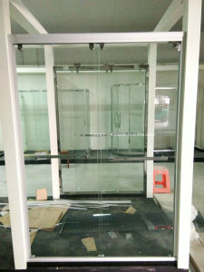 Shower Door Glass (SD-300 white aluminum) pictures & photos