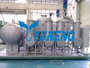 Vacuum System Used Tire Oil Recycling Machine pictures & photos