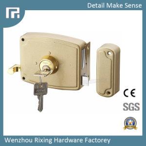 Mechanical Rim Door Lock (3427) pictures & photos