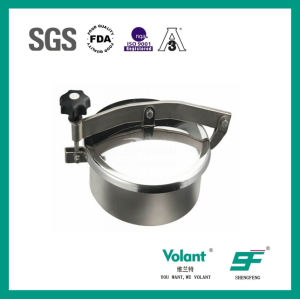 Sanitary Stainless Steel Round Manhole Sf9000001 pictures & photos
