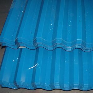 Blue Color Galvanized Roofing Sheets pictures & photos
