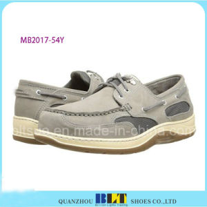 Hot Sale Leather Comfort Boat Shoes pictures & photos