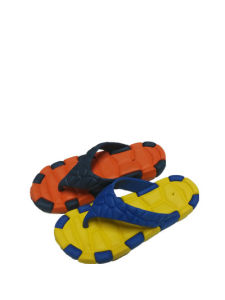 EVA Men′s Flip-Flops, Various Colors and Designs Are Available