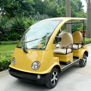 Marshell Colored 4 / 5 Seat Electric Tourist Sightseeing Car (DN-4) pictures & photos