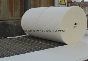 Heat Insulation Thermal Ceramic Fiber Blanket with Alumina Foil