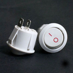 White Car/Truck/Boat Round Rocker Switch / Toggle Switch pictures & photos