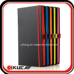 Color Edge Black Hardcover Notebook pictures & photos
