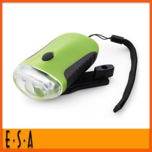 Hot New Product for 2015 Mini Hand Crank Flashlight, Cheap LED Hand Crank Flashlight, High Quality Hand Crank Flashlight G01d002 pictures & photos