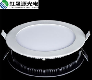 Aluminum Frame 18W High Brightness Round LED Panel Light pictures & photos