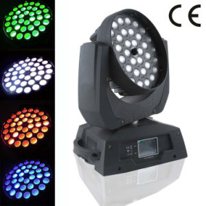 36X18W RGBWA+UV 6in1 Wash Zoom Beam LED Moving Head Light pictures & photos