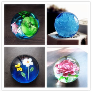 Wedding and Home Decoration Colorful Glass Ball pictures & photos