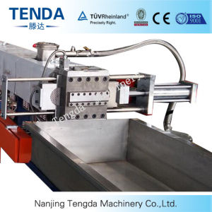 Tsh-75 Tenda Parallel Co-Rotating Twin Screw Extruder pictures & photos